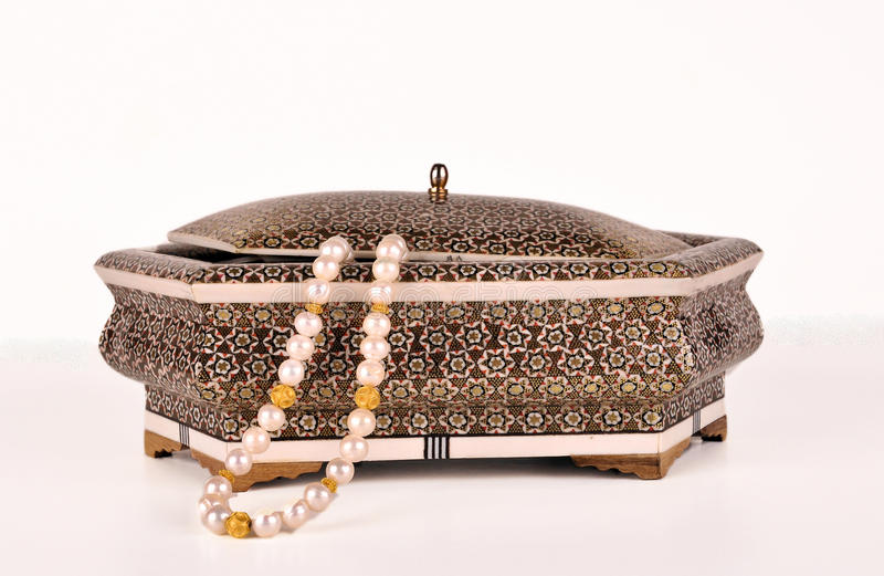Fancy Jewelry Box And Pearls Stock Photo Image of jewelry