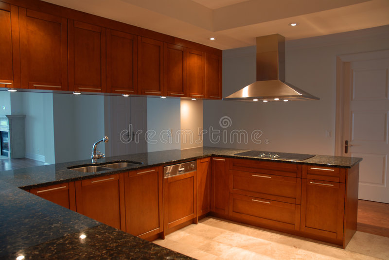 Fancy Kitchen stock image