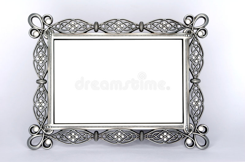 Download A Fancy Metal Photo Frame stock photo. Image of expensive - 4039178