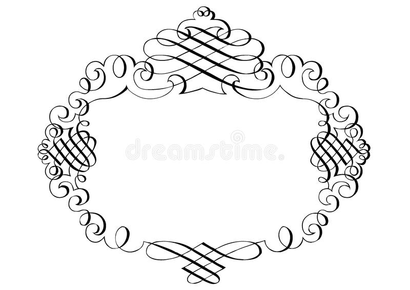 Fancy Page Border #6. Fancy page border Six. Also available as vector file. Copyspace vector illustration