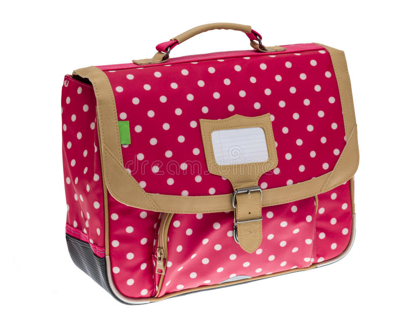 Fancy Schoolbag stock images