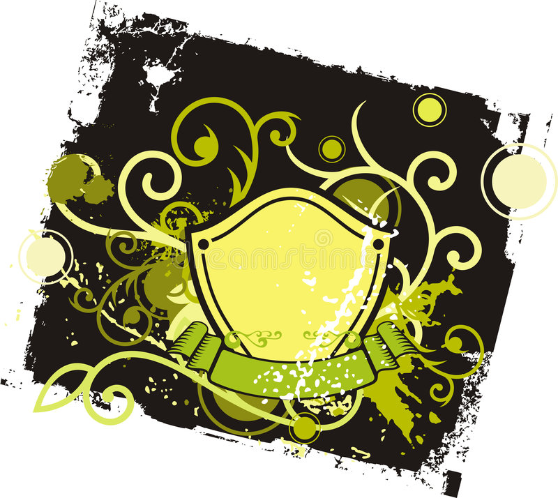 Download Fancy shield background stock vector. Image of medallion - 2322845