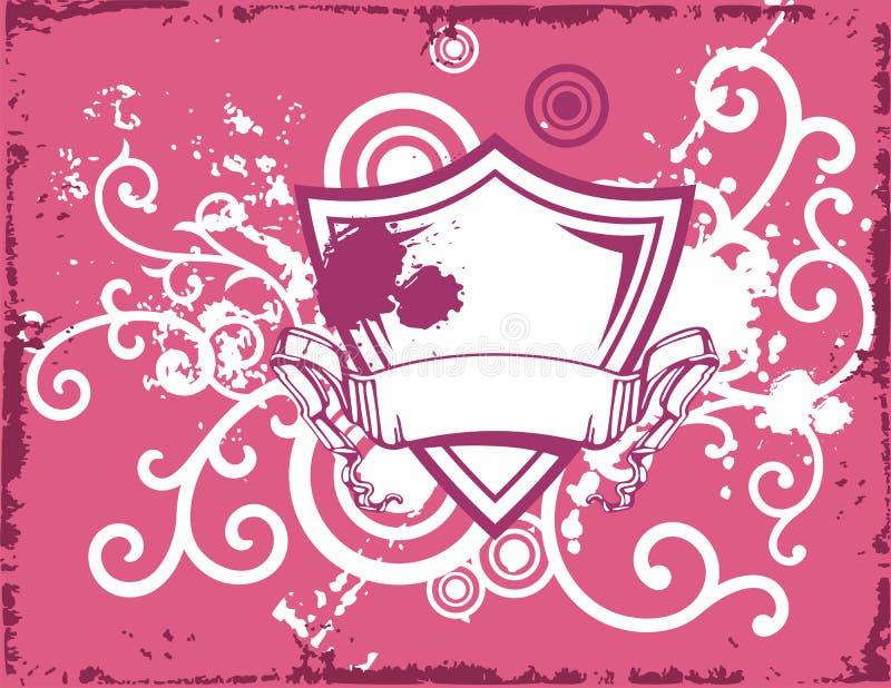 Download Fancy shield background stock illustration. Image of design - 2323123