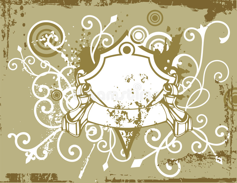 Download Fancy Shield Background Royalty Free Stock Photo - Image: 2323195