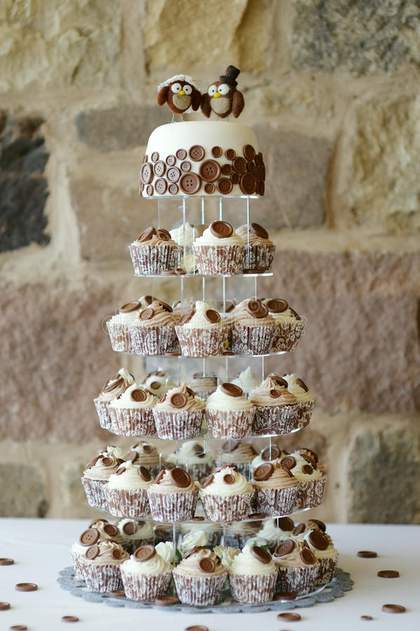 Fancy wedding cake royalty free stock images