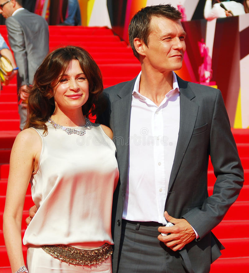 Download Fandera And Yankovskiy At Moscow Film Festival Editorial Photography - Image of couple, moscow: 31924592