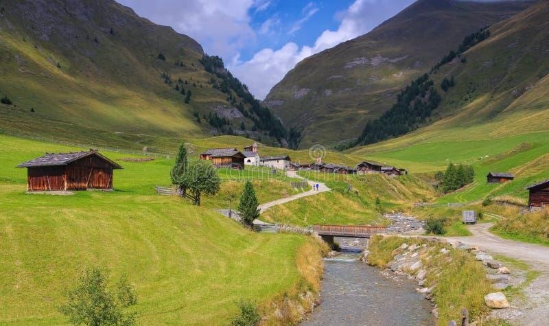 Fane-Alpe in Italien lizenzfreie stockbilder