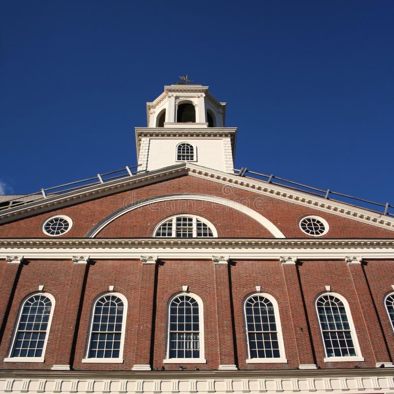 Download Faneuil Corridoio Boston fotografia stock. Immagine di cupola - 3891264
