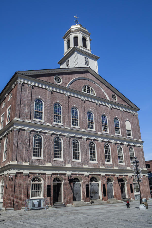 Faneuil Hall à Boston images stock