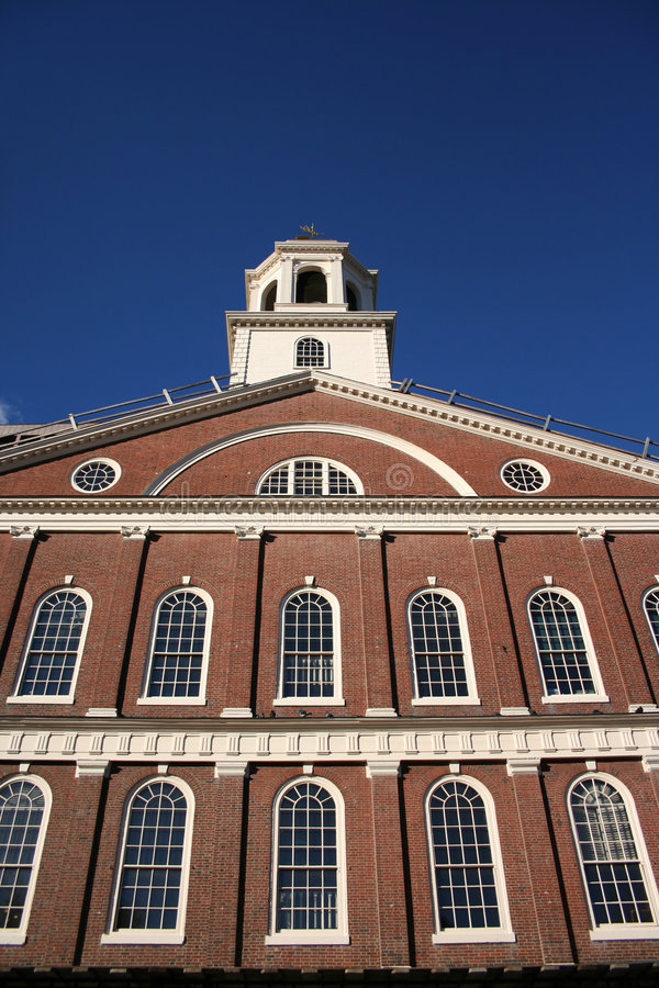 Faneuil Hall Boston image libre de droits