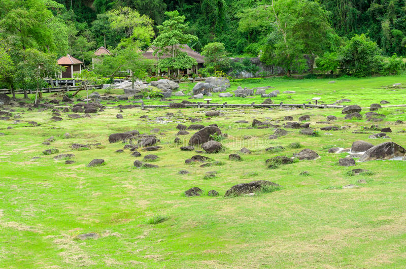 Fang Hot Springs, Tailândia imagens de stock