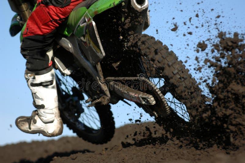 Fango 05 de Moto fotografía de archivo