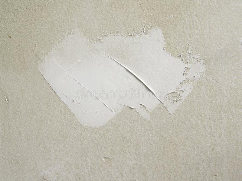 Fango de la mampostería seca imagen de archivo