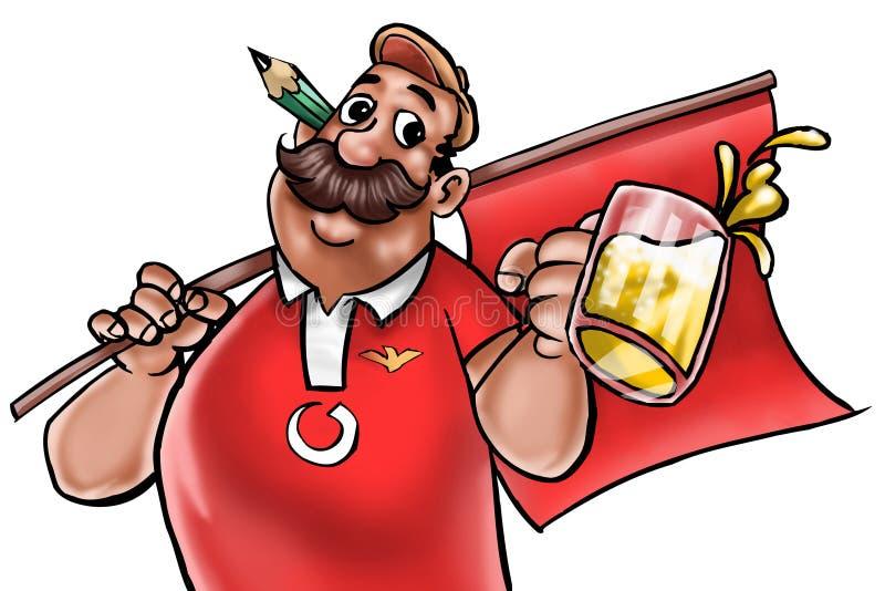 fani Portugal ilustracji