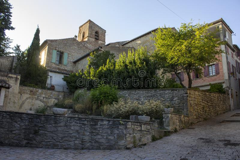Fanjeaux, Francia fotografia stock