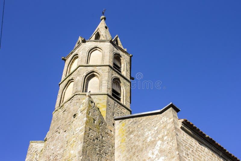 Fanjeaux, Francia immagine stock