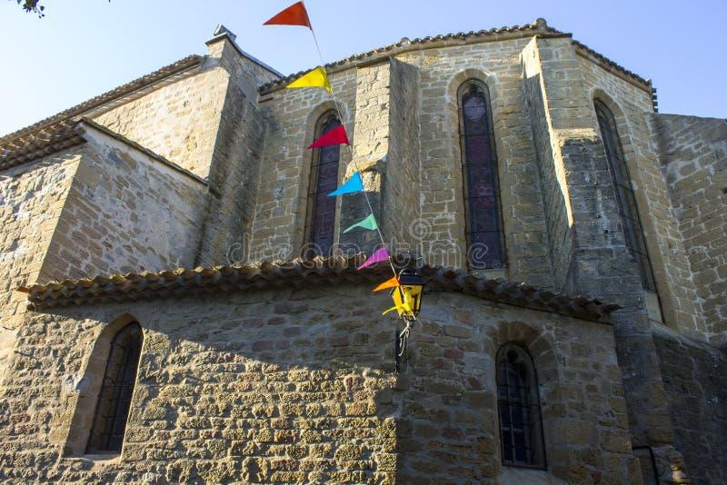 Fanjeaux, Francia fotografie stock