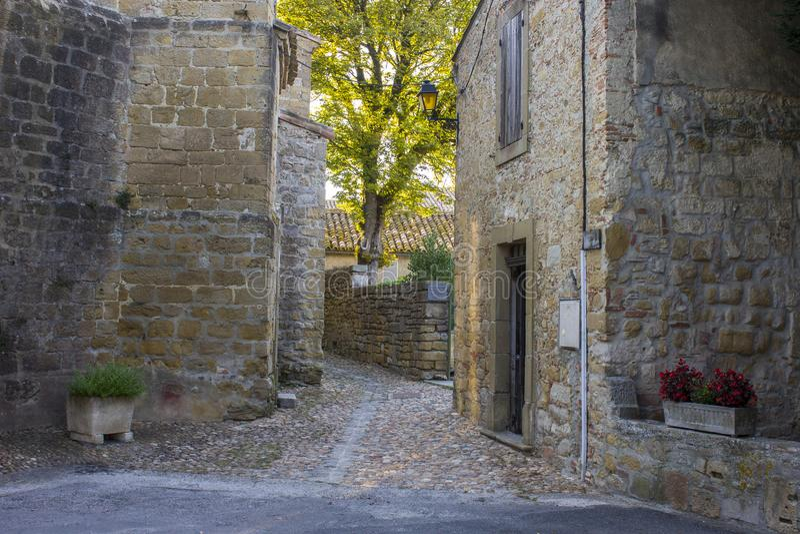 Fanjeaux, Francia fotografia stock libera da diritti