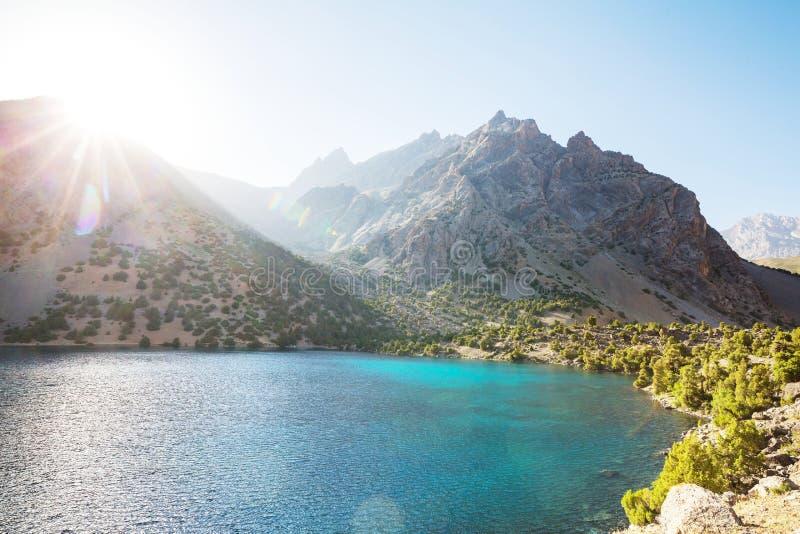 Fann góry jeziorne zdjęcie royalty free