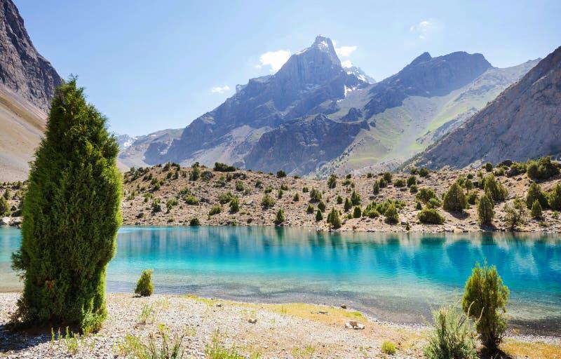 Fann góry jeziorne obraz stock