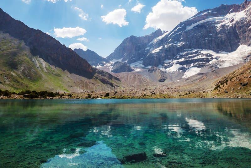 Fann góry jeziorne obrazy stock