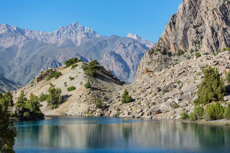 Fann góry jeziorne fotografia royalty free
