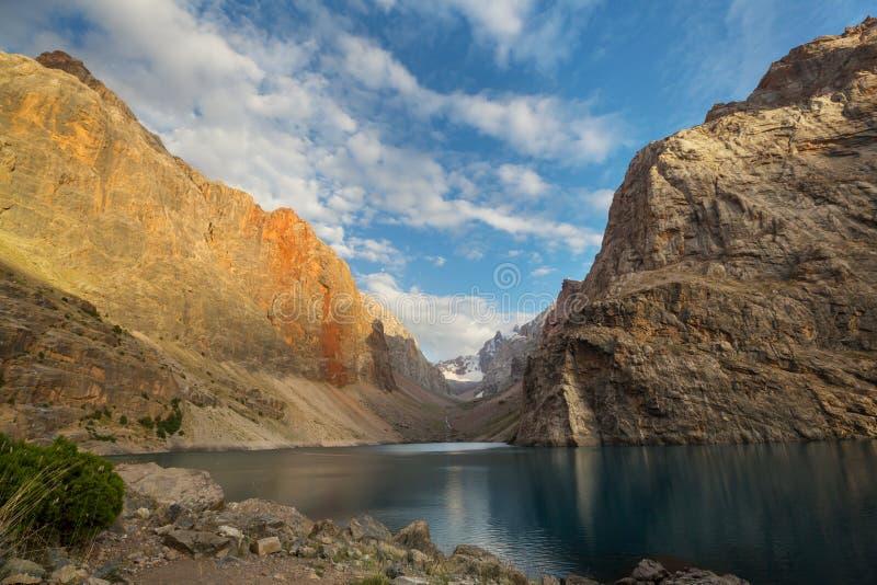 Fann góry jeziorne obraz royalty free