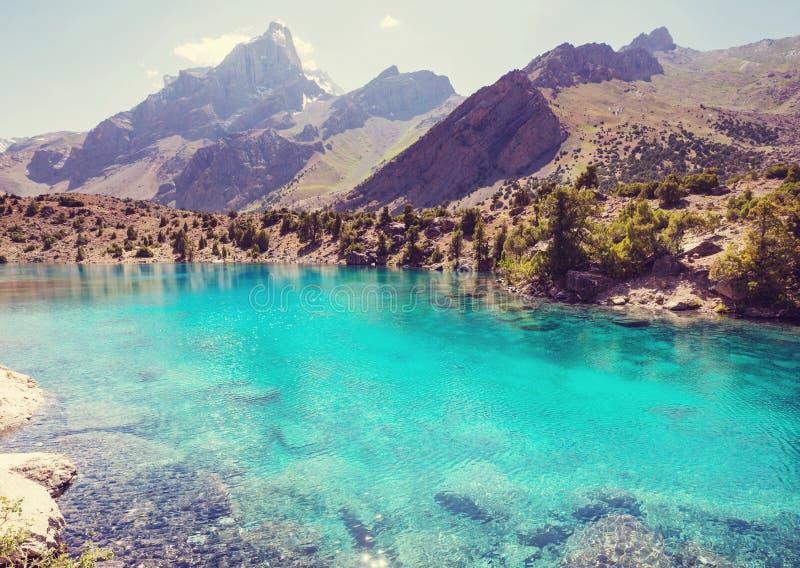 Fann góry jeziorne zdjęcia royalty free