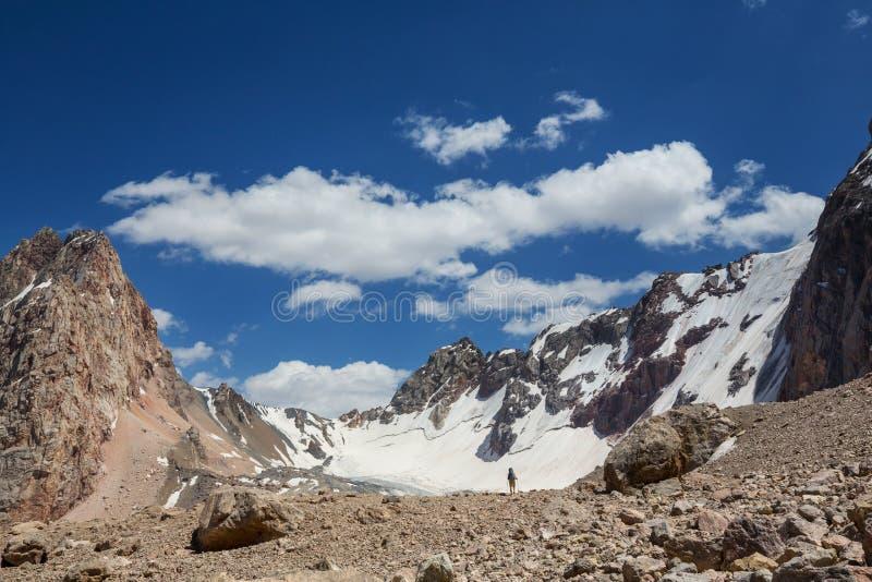Fann Mountains image libre de droits