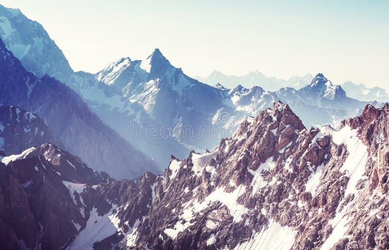 Fann Mountains image stock