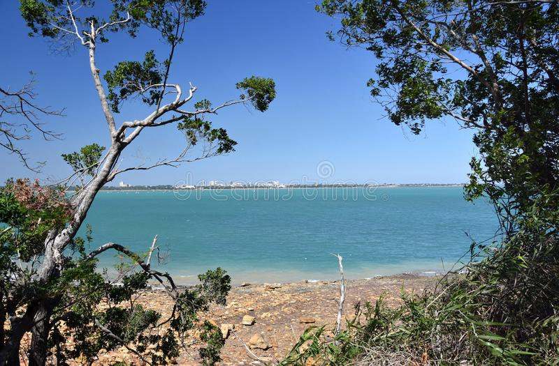 Fannie Bay est une banlieue de la ville de Darwin images stock