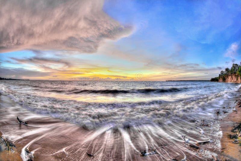 Fannie Bay, territoire du nord, Australie photographie stock libre de droits