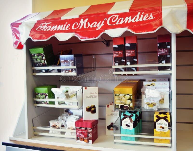 Fannie May Candies fotografia stock