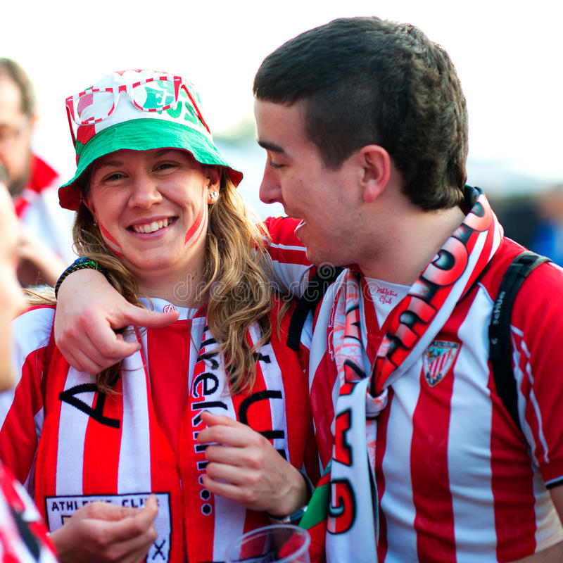 Download Fans of Atletico Bilbao editorial stock photo. Image of atletico - 27034758