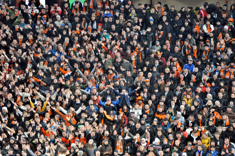Download Fans And Supporters On One Sector Editorial Photo - Image: 28092946