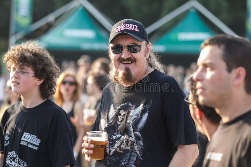 Download Fans at Tuborg Green Fest editorial photo. Image of photo - 28969906