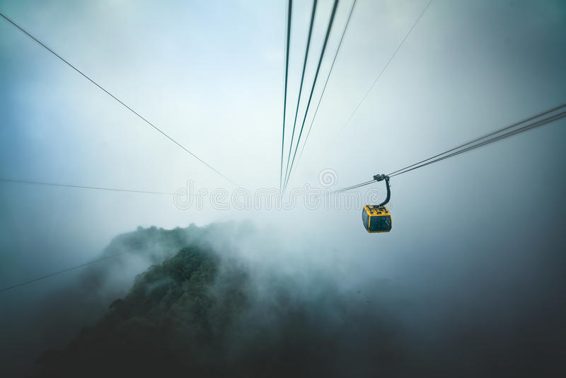 Fansipan Legend Cable Car royalty free stock photography