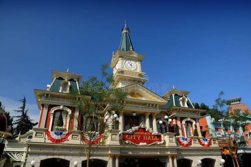 Fanstasyland in Disneyland Parijs stock foto's