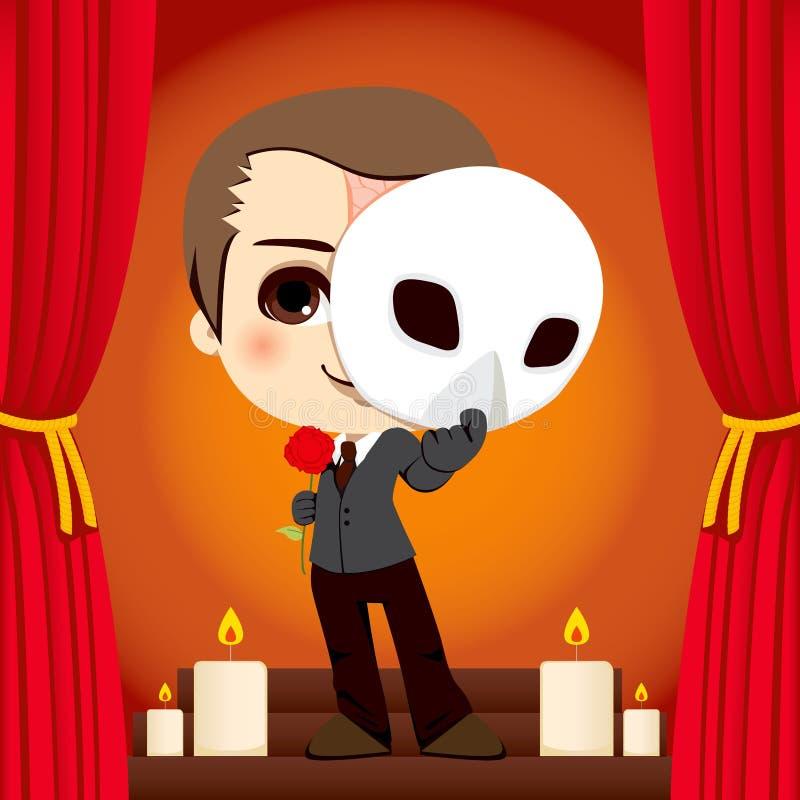 Fantôme de l'opéra illustration libre de droits