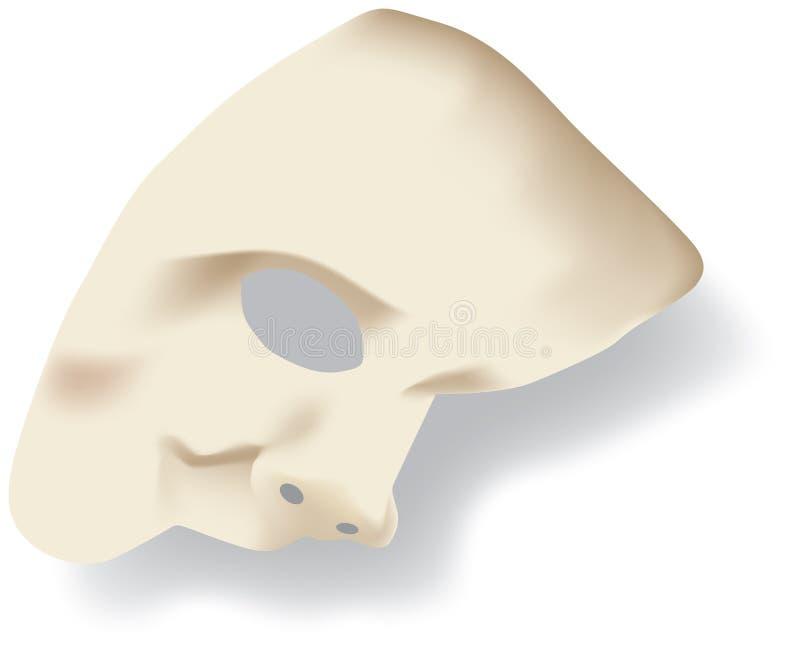 Fantôme du masque protecteur d'opéra illustration de vecteur