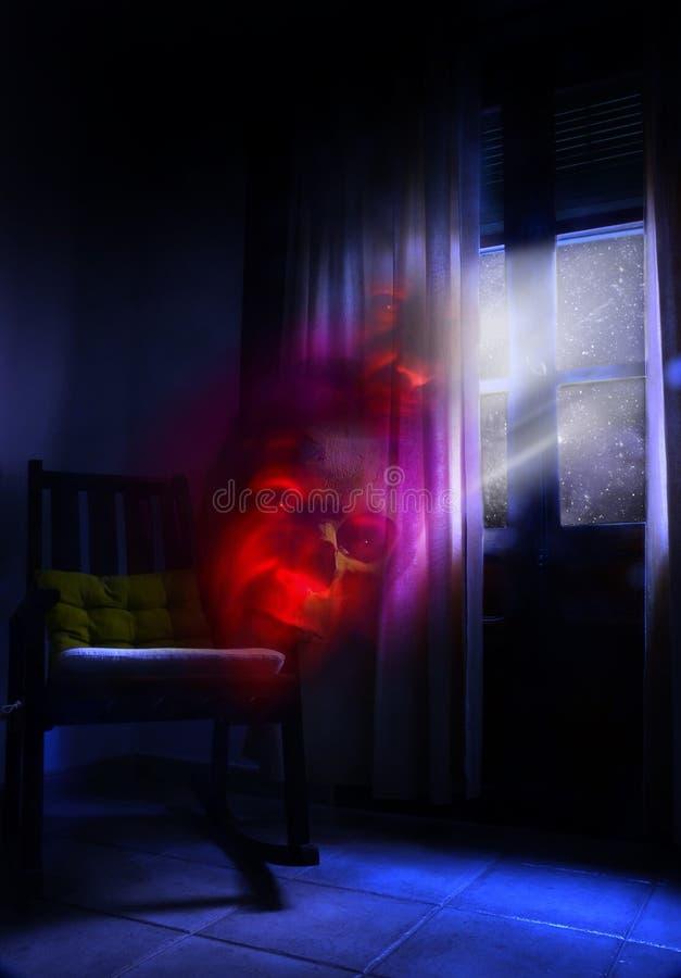 Fantômes de nuit illustration libre de droits