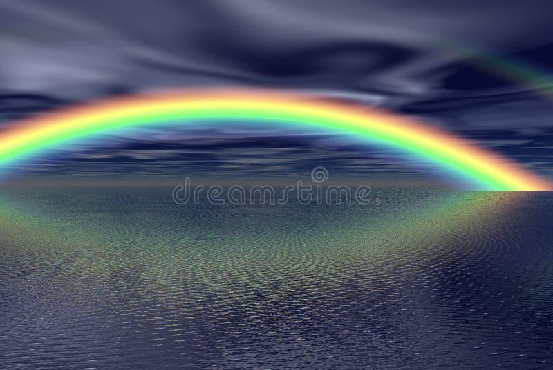 fantacy rainbow ilustracji