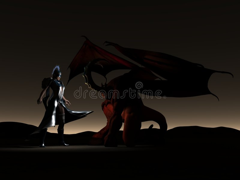 Download Fantacy scene stock illustration. Image of demon, body - 7450338