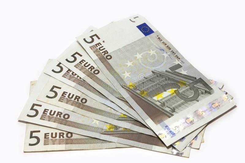 Fantail van het contante geld stock afbeeldingen