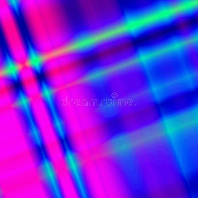 fantasía Azul-rosada ilustración del vector