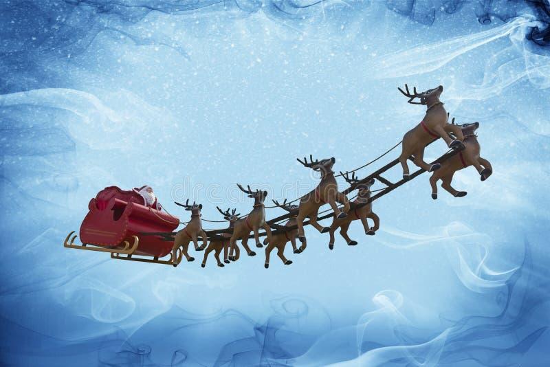 ¡Fantasía de Santa Claus y de la nieve! fotos de archivo libres de regalías