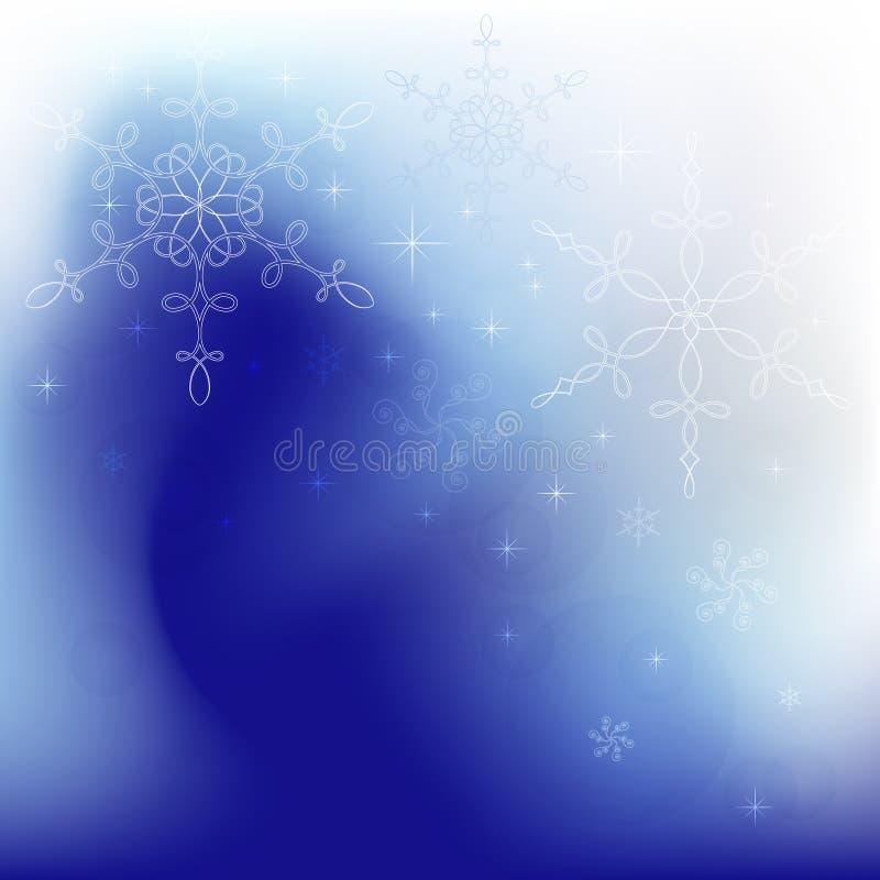 Fantasía del invierno stock de ilustración