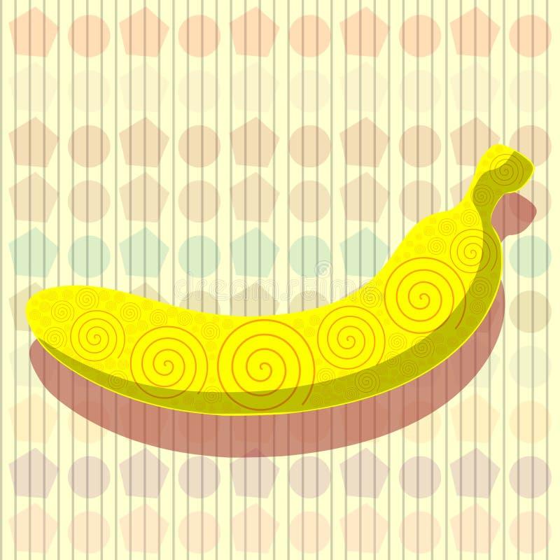 Fantasía del plátano ilustración del vector