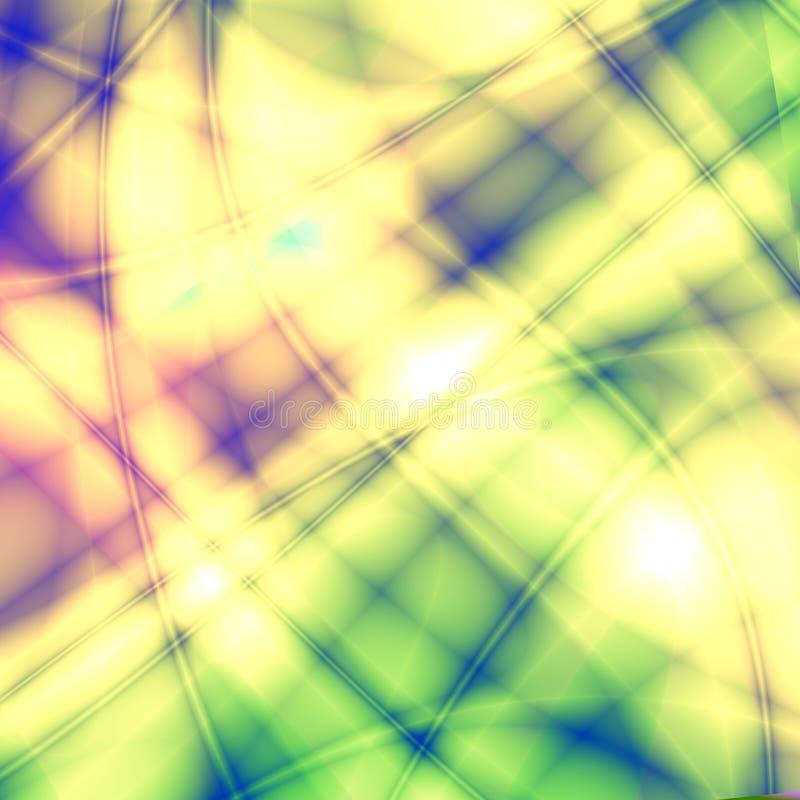 Fantasía multicolora ilustración del vector