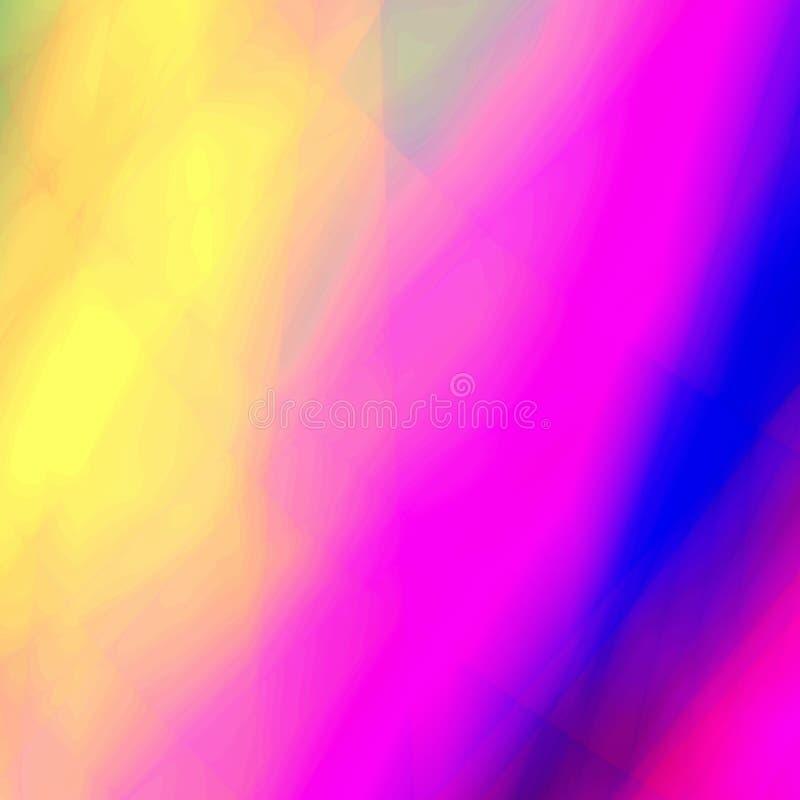 Fantasía multicolora stock de ilustración